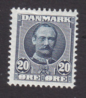 Denmark, Scott #74, Mint Never Hinged, King Frederick VIII, Issued 1907