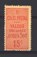 France  -  Colis Postaux  :  Yv  30   *     ,    N2 - Colis Postaux