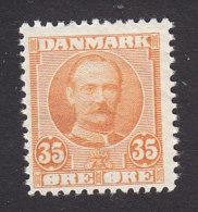 Denmark, Scott #76, Mint Never Hinged, King Frederick VIII, Issued 1907