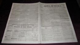 CORNEBARRIEU - LE DESASTRE  DE 1845 - ( JOURNAL DE TOULOUSE ). - Newspapers