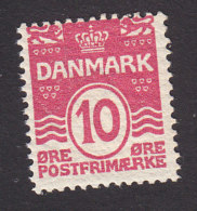 Denmark, Scott #62, Mint Never Hinged, Number, Issued 1905 - Unused Stamps