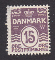 Denmark, Scott #63, Mint Hinged, Number, Issued 1905 - Unused Stamps