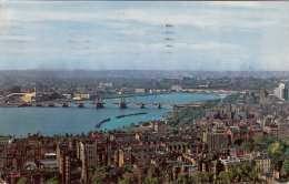 CHARLES RIVER AND BACK BAY SKYLINE (Boston, Mass.), Gel.1956 - Boston