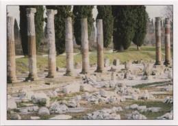 Figurina Adesiva Panini Patrimonio Unesco In Italia N. 29: Foro Romano Ad Aquileia (Udine) - Panini