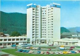 "CPM - PIATRA NEAMT - Hotelul ""Central"" - Roumanie"