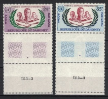 Dahomey 1965, UNO - ONU Année De La Cooperation Internationale **, MNH, Air Mail With Margin - Bénin – Dahomey (1960-...)