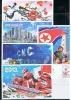 NORTH KOREA 2013 NEW YEAR OF JUCHE 102 MILITARY PROPAGANDA POSTCARDS CANCELED - Militaria
