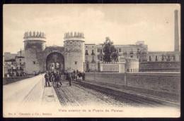 Vista Exterior De La Puerta De Armas. Edicion Claramon & Cia #3 BADAJOZ. Old Postcard ESPANA / SPAIN 1900s - Badajoz