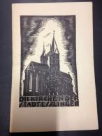 DIE KIRCHEN DER STADT ESSLINGEN KIRCHE EGLISE CHURCH - Documents Historiques