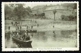 PALOGNE - Passage D'eau De La Ferme De Palogne, Vallée De L'Ourthe - Circulé - Circulated - Gelaufen - 1934. - Ferrieres