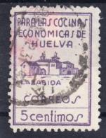 HUELVA.PARA LAS COCINAS ECONOMICAS FESOFI Nº 5   5 CENTIMOS.USADO  .SES035 - Emissions Nationalistes