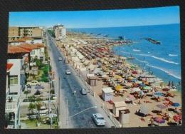 RIMINI - Viserba - Lungomare E Spiaggia - Auto - 1965 - Rimini