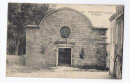 CPA 07 - SAINT-AGREVE - Le Temple - TB PLAN Edifice Religieux Et Sa Façade - PROTESTANTISME - Saint Agrève