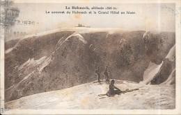 LE HOHNECK - Le Sommet Et Le  Grand Hotel En Hiver  - ENCH0616 - - Sonstige Gemeinden