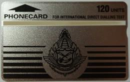 THAILAND - L&G - Test  - 112G - 120 Units - Mint - RARE - Thaïlande