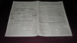 CORNEBARRIEU - SAUVETAGE A CORNEBARRIEU - LE DESASTRE DE 1845 - ( JOURNAL DE TOULOUSE ). - Journaux - Quotidiens
