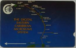 CARIBBEAN ISLANDS GENERAL - GPT - Digital Eastern Microwave System - 1CCMC - Used