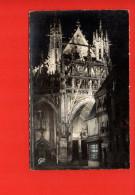 61 Alençon : Portail De Notre-Dame Illuminé - Alencon