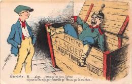 ¤¤   -   Illustrateur  -  Guerre 1914-18   -  Carte Patriotique    -  ¤¤ - Patriottisch