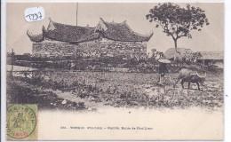 TONKIN--PHU-LIEM--PAGODE-ROUTE DE PHU-LIEM - Postcards