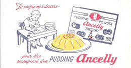 Buvard Publicitaire  Ancelly - Lebensmittel