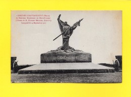 CPA 55 CUMIERES LE MORT HOME - CHATTANCOURT - MONUMENT AUX MORTS DE LA 69e DIVISION - France