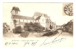 60 - BEAUVAIS L'ÉGLISE SAINT ÉTIENNE - ÉDITION LL - 26/1/1903 - 2 Scans - - Beauvais