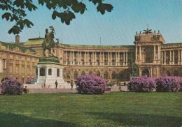 Austria--Vienna Place Des Heros--avec, Noveau Chateau Imperial - Castillos