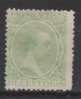 1889 ALFONSO XIII PELÓN 20 CTS(*). VER. 54 € - Nuevos