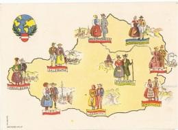 COST-L14 - AUTRICHE N° 646 Sur Carte Souvenir Costumes Régionaux - Kostüme