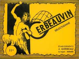 ETIQUETTE DE VIN : GERBEAUVIN A MARMANDE . - Vin