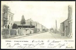 JODOIGNE - Avenue De La Station - Circulé - Circulated - Gelaufen - 1902. - Jodoigne