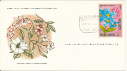 Guinea FDC 10-2-1979 FLOWERS With Cachet - Guinea (1958-...)