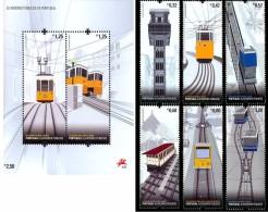 Portogallo 2010, Public Elevators, 6val +BF - 1910-... Republic