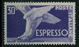 PIA - ITALIA - Specializzazione - 1946 : Espresso  £ 30- (SAS  29 - CARRARO  5) - 6. 1946-.. Repubblica