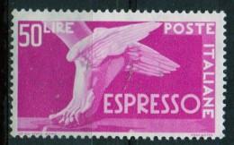 PIA - ITALIA - Specializzazione - 1951 : Espresso  £ 50- (SAS  30 - CARRARO  6) - 6. 1946-.. Repubblica