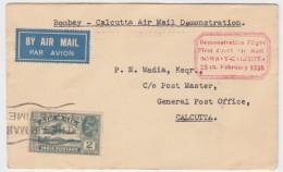 India - Demonstation Flight, Bombay-Calcutta 1935 - Poste Aérienne