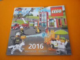 Greece Greek Lego Collectible Catalog Catalogue January-June 2016 (Star Wars Firemen Pompier)) - Catalogs