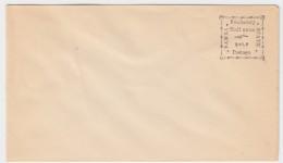 Bamra 1890 - PS Envelope, 1/2 Anna, Unused - Bamra