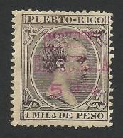 Puerto Rico, 5 C. On 1 M. 1898, Sc # MR10, MH - Puerto Rico