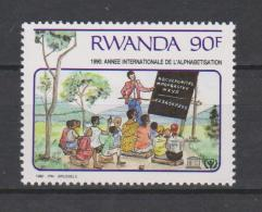 Rwanda International Year Of Education - Teacher - Students - 1990 * * - Rwanda