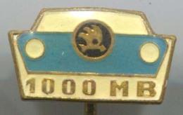 SKODA - Car, Auto, Automotive, Enamel, Vintage Pin, Badge - Pins