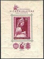 Ungarn 1958: Michel-Nr. 1527 = Block 27  Tracht Von Kazar ** MNH (Michel € 35.00) - Kostüme
