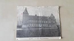 Ternat Ternath Le Chateau De Cruquenbourg Krantenknipsel - Ternat