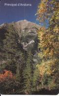 ANDORRA(chip) - Bosc De Pal, Tirage 20000, 11/00, Used - Andorra