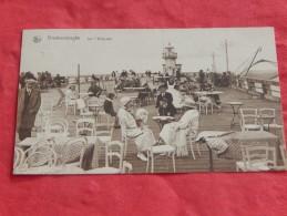 BLANKENBERGE - BLANKENBERGHE - Sur L' Estacade  -  1926  -  (2 SCANS) - Blankenberge