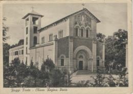FIUGGI  FONTE   CHIESA  REGINA  PACIS          ( VIAGGIATA) - Italia