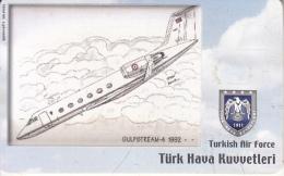 TURKEY(chip) - Airplane, Gulfstream-4 1992(50 Units), Used - Turquia