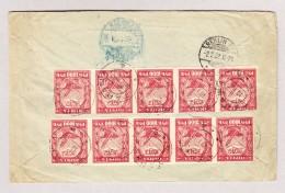 Russland 10.1.1922 Tarasha Mi#161 (10) Inflationsbrief Nach Berlin - 1917-1923 République & République Soviétique