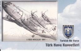 TURKEY(chip) - Airplane, C-130E Hercules 1964(50 Units), Used - Airplanes